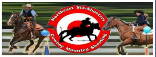 Northeast Six Shooters logo and link